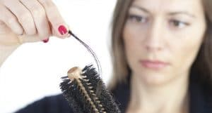 caída pelo mujeres