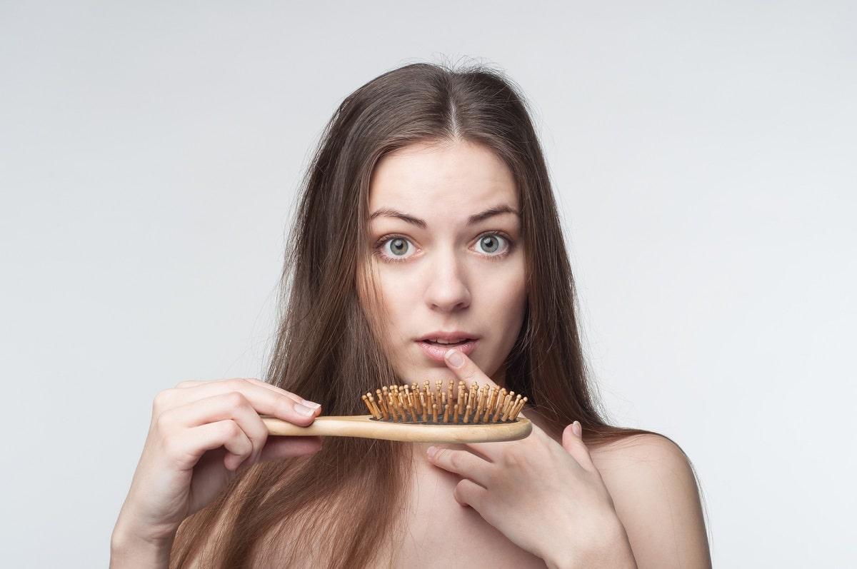 caída cabello mujer